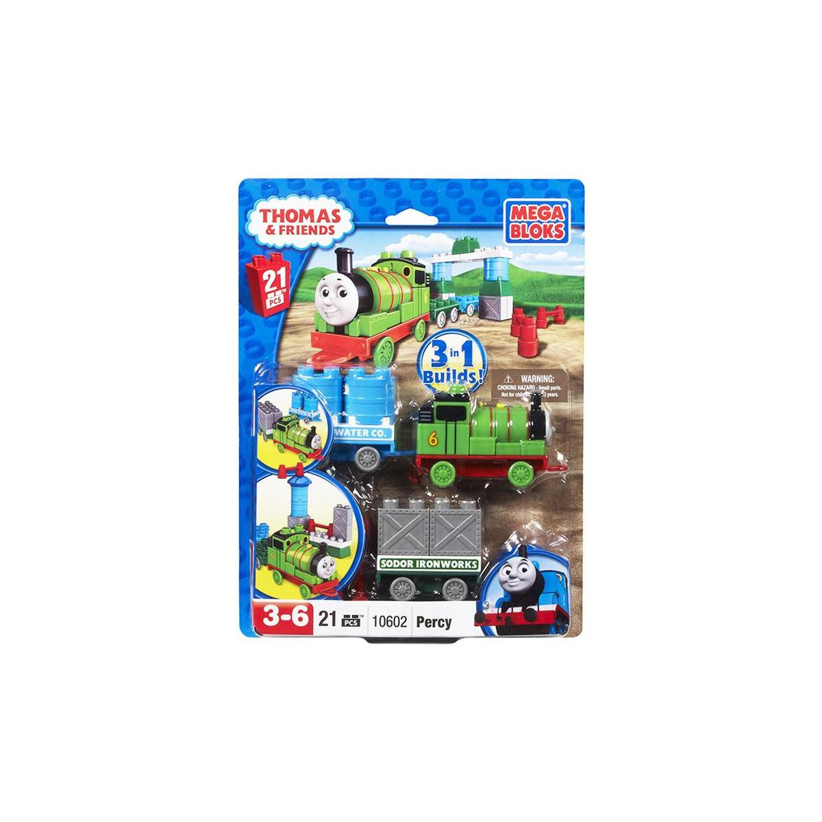 Lego Ve Parcali Bloklar Mega Bloks Thomas Ve Arkadaslari Percy