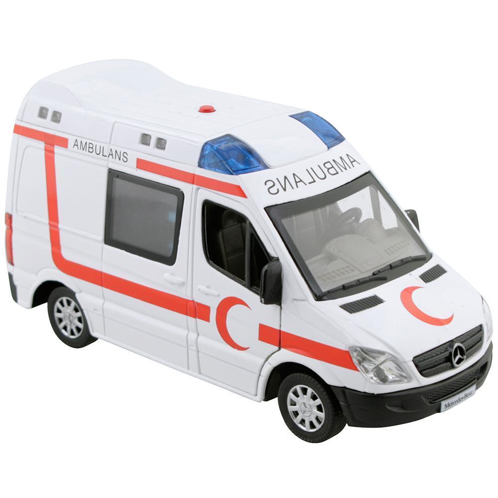Oyuncak Kirtasiye Vardem Ambulans Sesli Ve Isikli Cek Birak