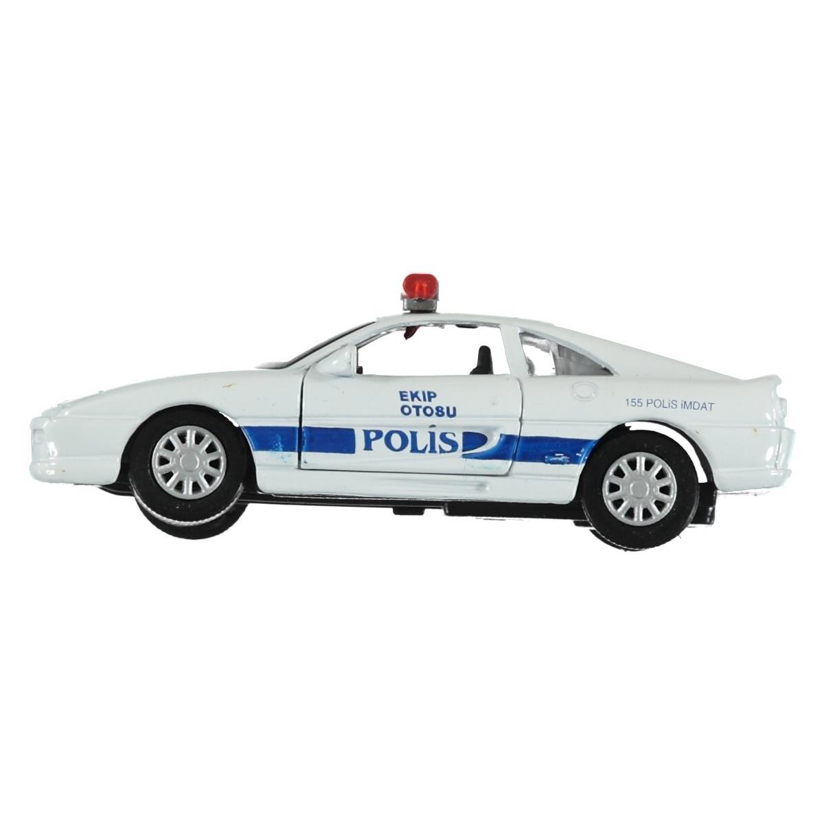 Birlik Oyuncak Fy3322p 12d Birlik Oyuncak çek Bırak Metal Polis Arabası