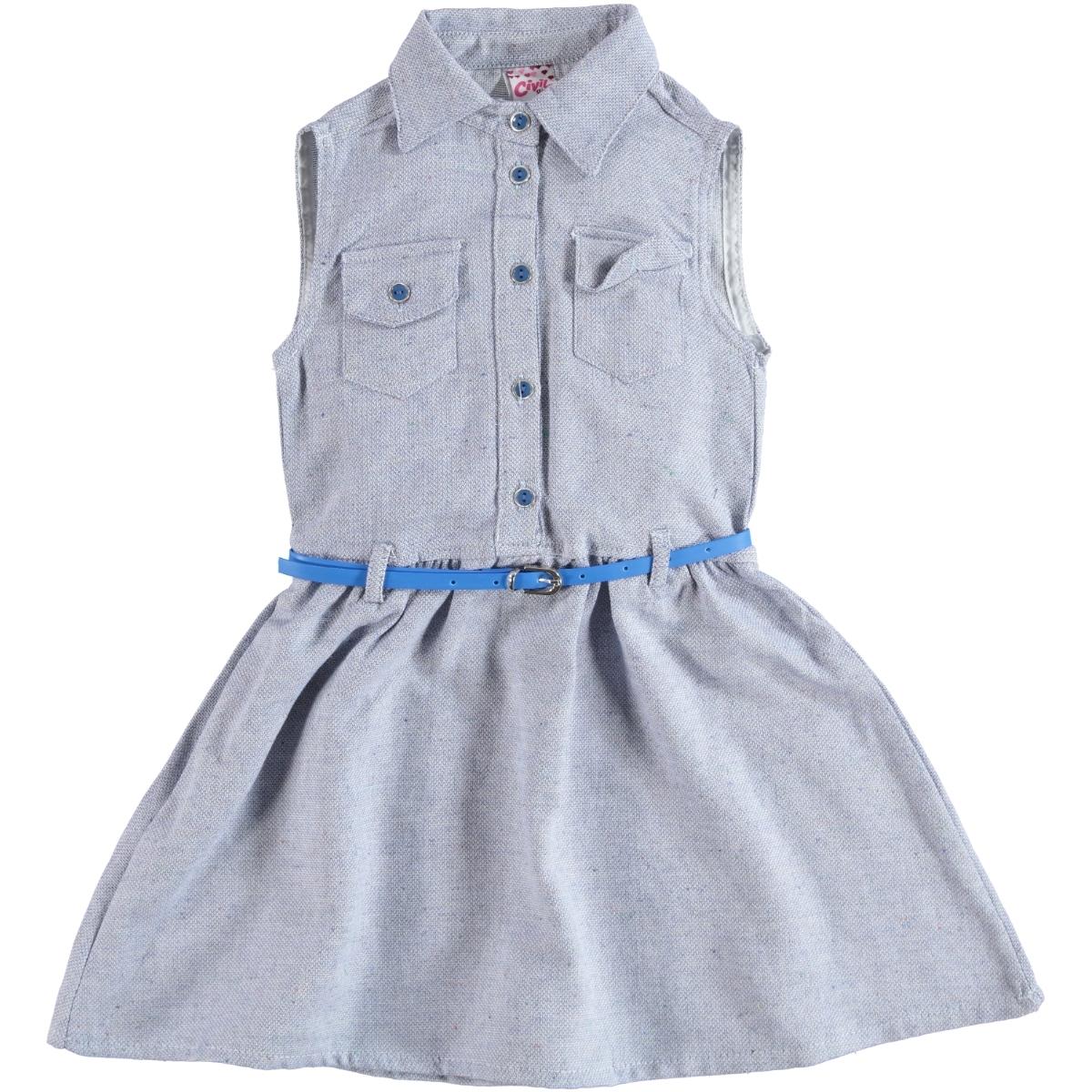 0a4f73c3185c7 Civil Girls 0142 / LCI Civil Girls Kız Çocuk Elbise 10-13 Yaş Lacivert