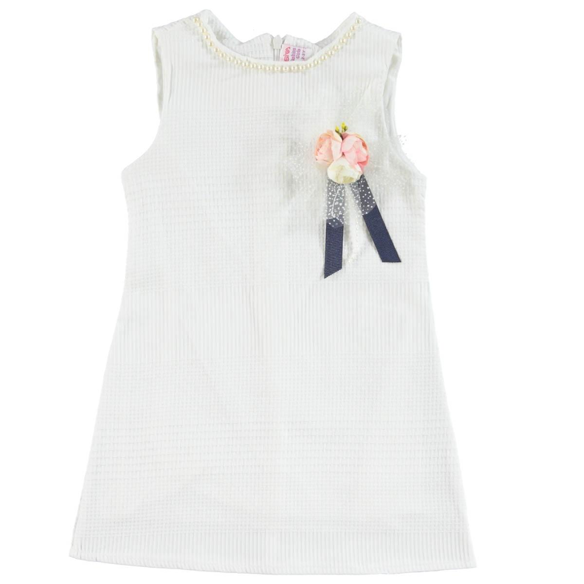 39591f8df1d32 Missiva 18032 / EKR Missiva Kız Çocuk Elbise 10-13 Yaş Ekru