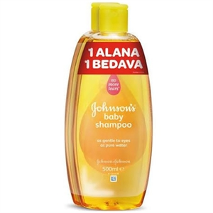 Johnson's Baby 500 ml+500 ml Şampuan
