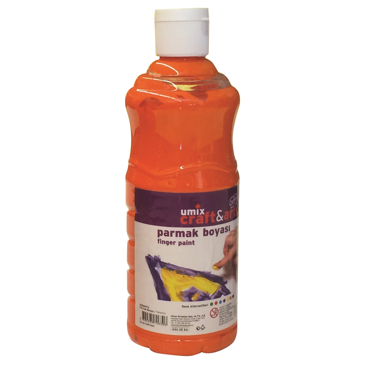 Craft And Arts Parmak Boya 500 ml-Truncu