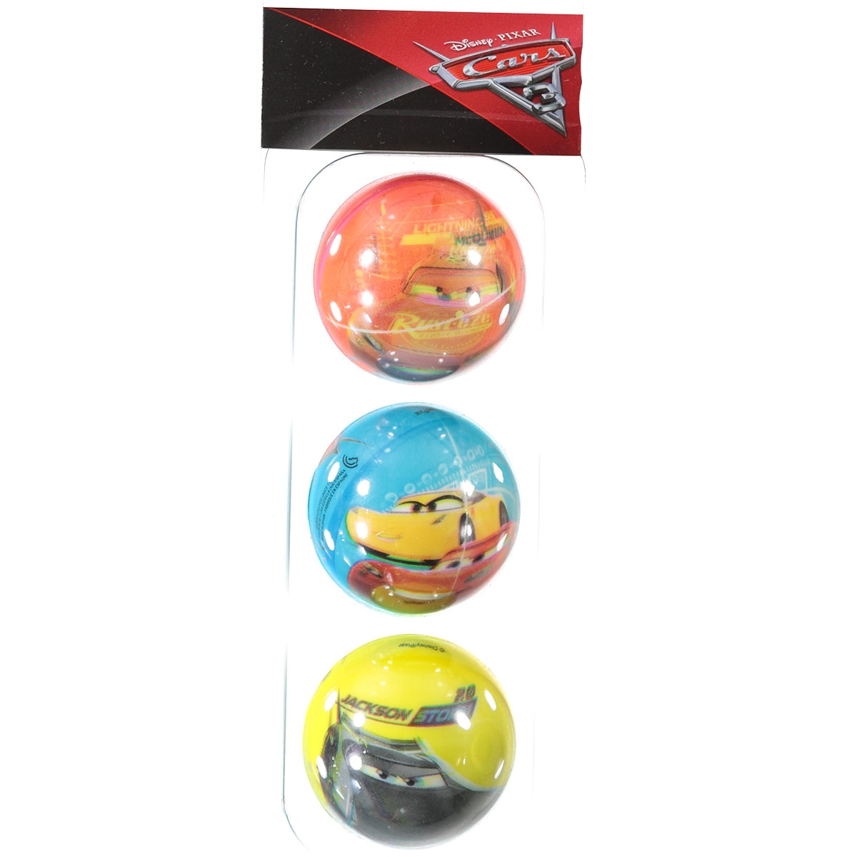 Disney Cars 3'lü Top