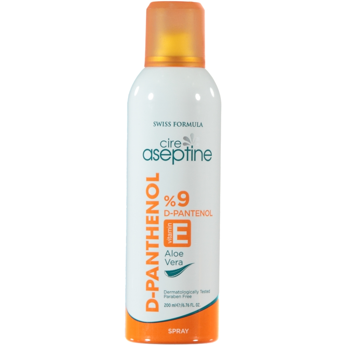 Cire Aseptine Panthenol Nemlendirici Spray 200 Ml