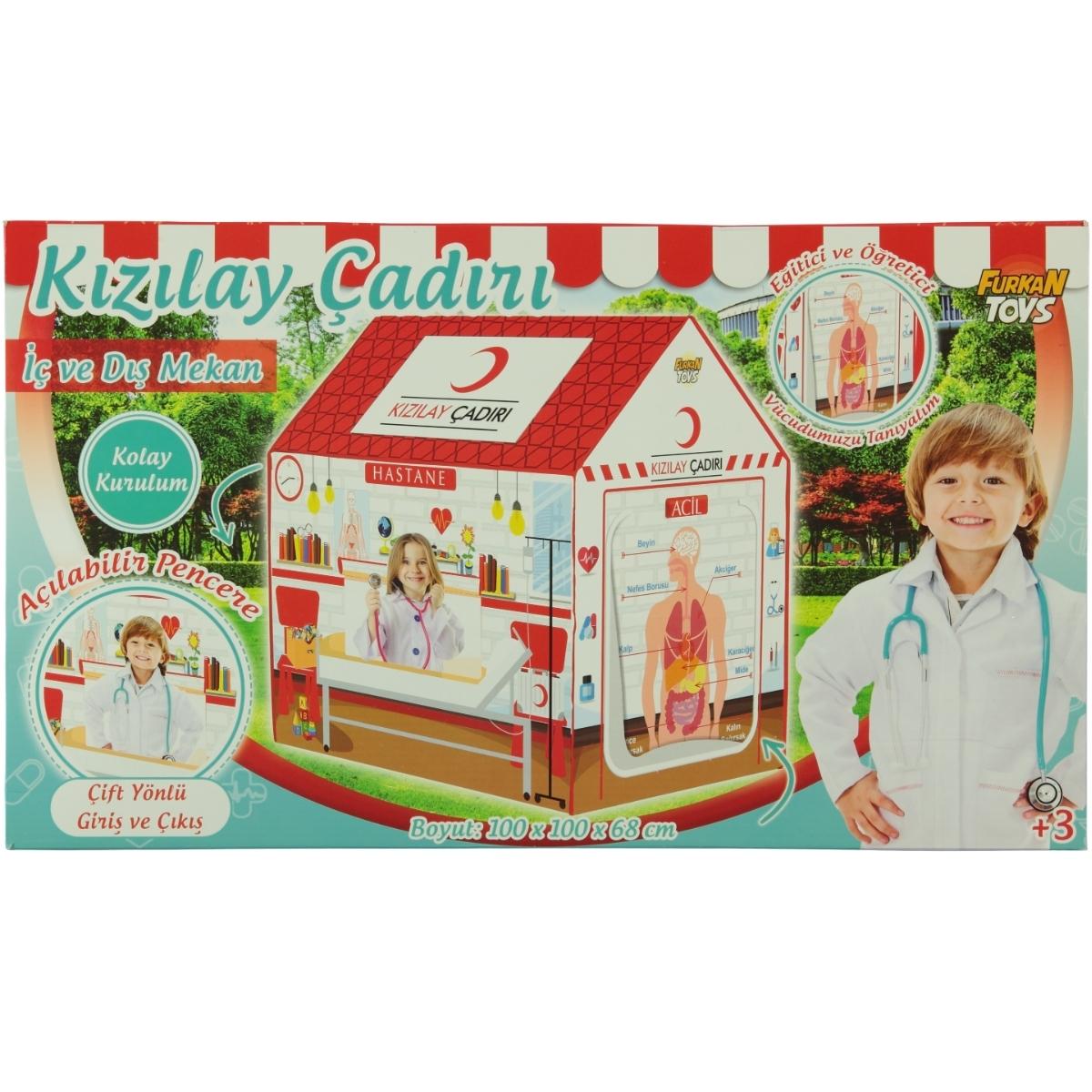 Fr57942 Furkan Toys Kizilay Oyun Cadiri 3 Yas Beyaz