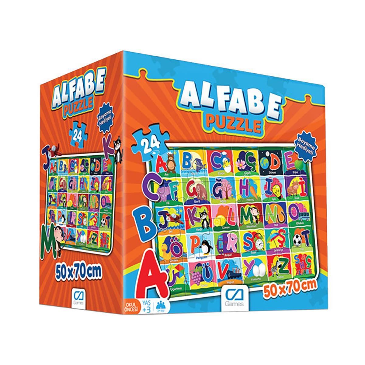 Ca Oyuncak Ca5027 Ca Games Alfabe Puzzle 3 Yaş