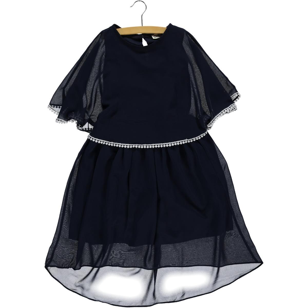 6fe2e913ed65d 201921-1 / LCI Civil Girls Kız Çocuk Elbise 10-13 Yaş Lacivert
