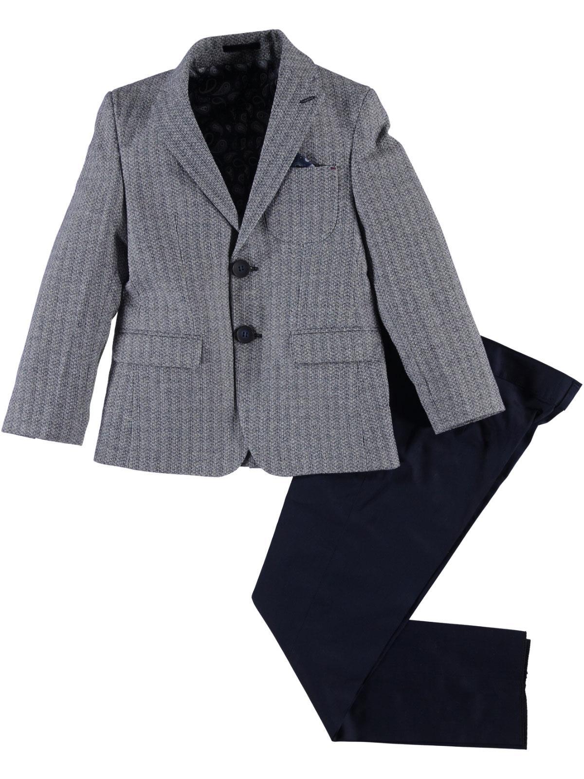 Civil Class Erkek Cocuk Takim Elbise Modelleri 2 5 Yas Lacivert