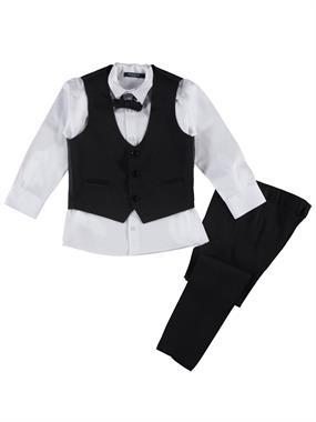 1242f253f57aa Civil Class Erkek Çocuk Takım Elbise 6-9 Yaş Siyah