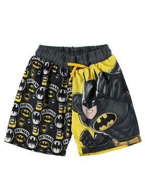 a84ea9907f3e0 Batman Erkek Çocuk Deniz Şortu 3-9 Yaş Sarı